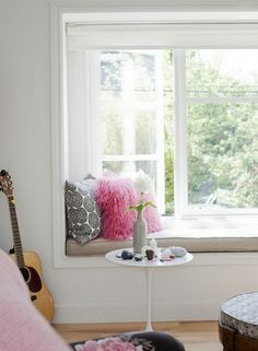Get cozy as you admire these adorable reading nooks!