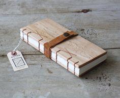 Wood Field Journal / Cross Stitch