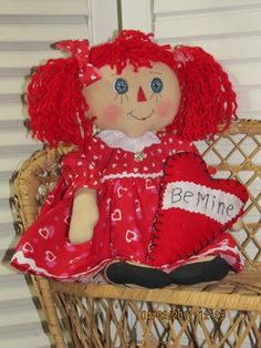 Primitive and Raggedy Dolls