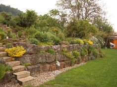 Garten Hanglage (Front Garden Step)