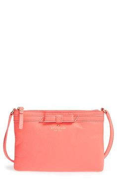 kate spade new york 'cobble hill bow - tarin' crossbody bag available at #Nordstrom