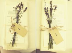 lavender place settings names wedding