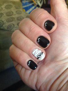 Halloween nails. #halloweennailart #halloweennails #nailart #nails