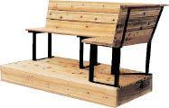Steel Bench Brackets - five styles