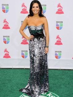Karent Sierra at the Latin Grammy Awards