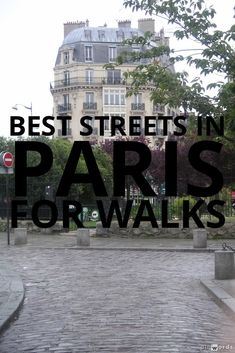 best streets in paris for walks