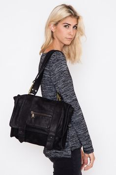 Vere Verto Black Midi Prov #Convertible #Handbag #backpack #fashion #lynnfriedman @lynnrfriedman