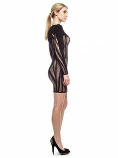 Long Sleeve Cutout Illusion Dress by RVN. Tara Pressley · Sexy Mini Dresses 876856a87