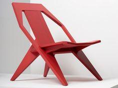 Wooden chair Medici Collection by Mattiazzi | design Konstantin Grcic