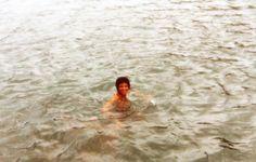 michael jackson swimming rare