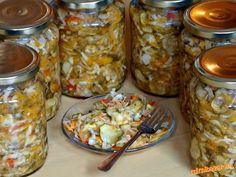 ČALAMÁDA Slovak Recipes, Homemade Pickles, Canning Recipes, Kimchi, Pesto, Herbalism, Smoothie, Food And Drink, Favorite Recipes