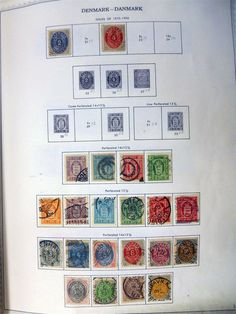 Early Norway & Sweden Stamp Collection Scandinavia 1855+ Finland Denmark Iceland