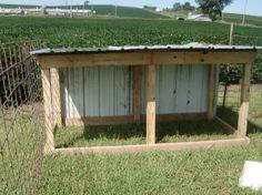 building plans for goat shed
