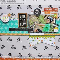 Boys Rule Scrapbook Kits