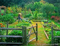 attractive garden fencing | Attractive Garden Fence Ideas For Your Garden