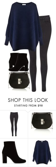 """Untitled #2927"" by elenaday ❤ liked on Polyvore featuring Maison Scotch, Chloé, Yves Saint Laurent and Paisie"