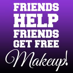 Want FREE makeup?! Host a Younique Facebook party with me! All online, no cleaning your house ;) click the pic or go to:  https://www.youniqueproducts.com/products