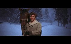 Screenshot of Tommy Rall as Frank Pontipee in Seven Brides For Seven Brothers.