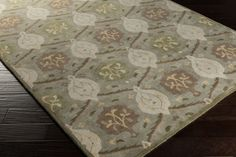 Tracy TRAC with colors Khaki, Khaki/Cream/Taupe/Camel/Olive/Butter/Tan. Hand Tufted Wool Medallions and Damask made in India Wool Area Rugs, Wool Rug, Damask Rug, Transitional Area Rugs, Carpet Stains, Color Khaki, Rug Cleaning, Online Home Decor Stores, Throw Rugs