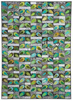 Black & White, Bright & Bold: 24 Quilt Projects to Piece & Appliqué by Kim Schaefer #BlackandWhiteBrightandBold