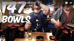 #HeyUnik  Hebat, Pria Ini Habiskan 147 Mangkuk Mie Hanya Dalam 5 Menit #Video #YangUnikEmangAsyik