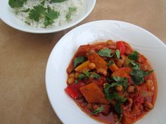 Vegetarian chilli – chocolate and butternut squash chilli
