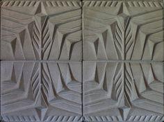 Frank Lloyd Wright cinder block