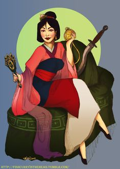 #07 Mulan by ~orangesteps on deviantART