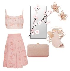 """""""First Blush of Spring"""" by mylittlesailor on Polyvore featuring Prada, NAKAMOL, Red Camel, Dune and Halston Heritage"""