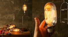 Lámparas de diseño industrial