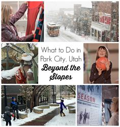 Skiing and snow boarding are fabulous. But there's more to explore in Utah's famous mountain town. Here's what to do in Park City, Utah - beyond the slopes. #ad