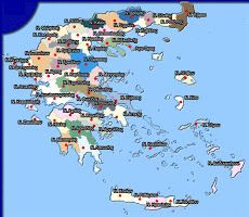 Χάρτης της Ελλάδας