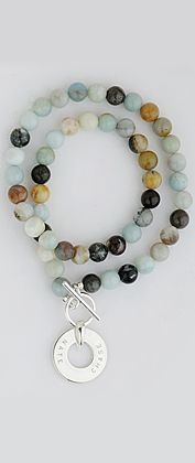 "16"" amazonite beads from citrus silver"