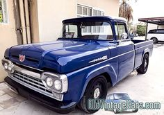1960 Ford Truck Police