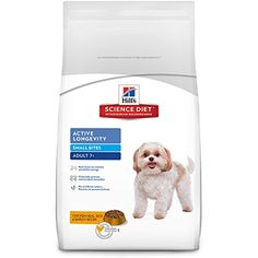 Hills Science Diet Adult 7 Active Longevity Small Bites Chicken Meal Rice Barley Recipe Dry Dog Food 33 lb bag * You can get additional details at the image link. Best Senior Dog Food, Best Dog Food, Dry Dog Food, Pet Food, Dog Food Recipes, Chicken Recipes, Hills Science Diet, Food Science, Brown Rice Recipes