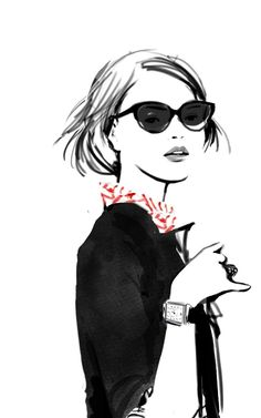 #ClippedOnIssuu from Sophie Griotto— Fashion Illustration Portfolio