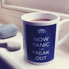 Now Panic Freak Out Mug on Fancy Giving  - £4.90 - #CoolMugs #Cups http://www.FancyGiving.com