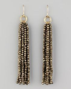 how to make a seed bead tassel - Google Search