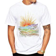 Men's Printed Cotton T-Shirt
