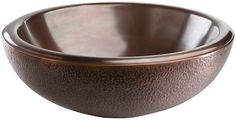 """View the Thompson Traders NS25029-A 18"""" Drop In / Vessel FLW Round Double Wall Handcrafted Copper Sink from the Limited Editions Collection at Build.com."""