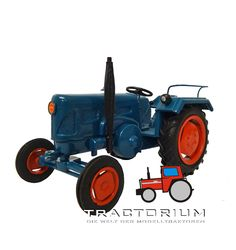 MH Modelle Lanz D2416 Traktor 1/32