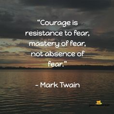 """Courage is resistance to fear mastery of fear not absence of fear""  When I am are pushing boundaries and challenging myself to move my business forward ... I always feel those shards of fear that's how to tell a new phase is starting... but with a structure and plan in place that fear becomes tingles of excitement   Do you have any exciting plans?   Jacs      Click my Bio Link to join my Social Facebook Group    @jacshenderson  #socialnetworkmarketing"