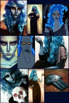 genderbent hades, underworld, ruler, hercules, disney, cossplay, halloween, disney villain