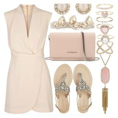 """""""Pastel's In Summer"""" by mrs-rc ❤ liked on Polyvore featuring Finders Keepers, Antik Batik, Alexandre de Paris, Givenchy, Kate Spade, Accessorize and Kendra Scott"""