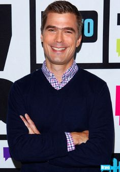 We love Hugh Acheson, unibrow and all.