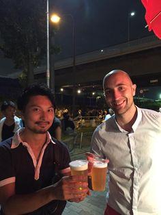 Con Yuki Otsuka en Osaka!