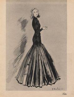 1941 Haramboure Sketch
