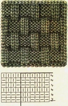 Strickmuster Crochet Techniques different crochet techniques Baby Knitting Patterns, Knitting Stitches, Free Knitting, Stitch Patterns, Crochet Patterns, Weaving Patterns, Simple Knitting, Kids Knitting, Creative Knitting