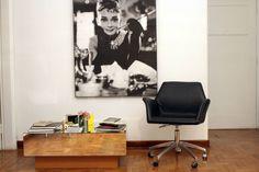 cadeira de escritório charles eames - cadeiras tok&stok