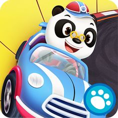 Panda Racers is our newest Top Pick! Software Apps, Smartphone, Possible Combinations, Cute Panda, App Icon, Disney Cartoons, Mobile Application, Courses, Game Design